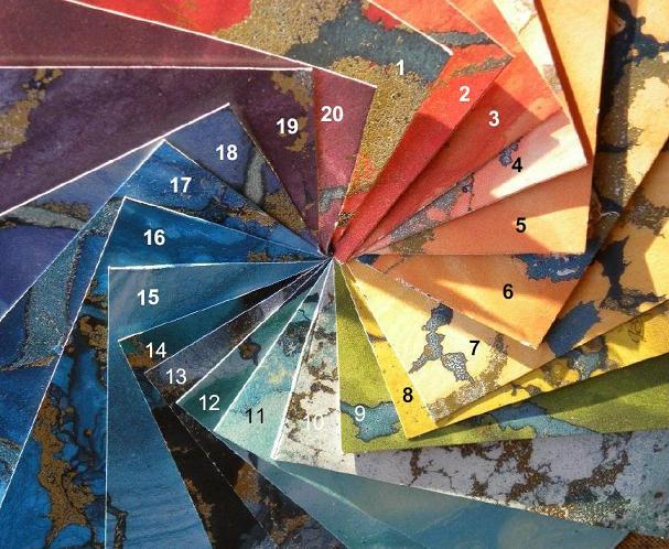windchimes.nl | welke kleuren Zaphir's zijn er?
